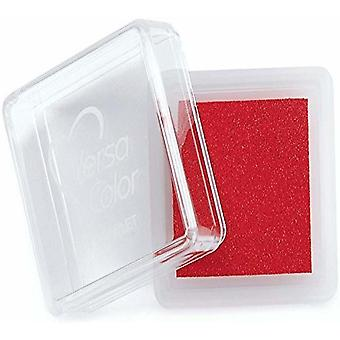 Versasmall Scarlet Red Pigment Small Ink Pad - Pigment Ink  Craft Ink