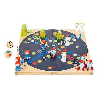Legler Small Foot Children's Ludo Space Board Game (11452)