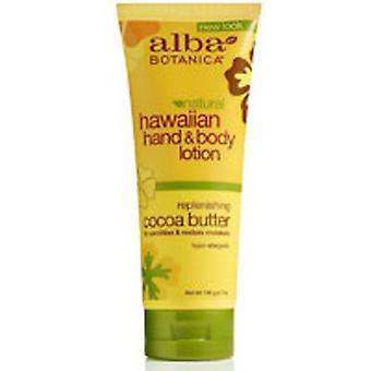 Alba Botanica Hawaiian Hand & Body Lotion, Cocoa Butter 7 oz