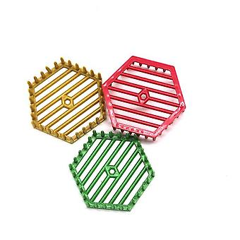Multi-color Plastic Bee Cages For Beekeeping - Needle Type Hexagon Cell