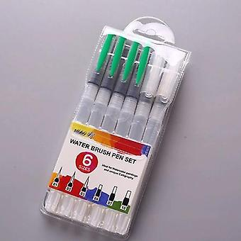 Refillable Water Brushes, Painting Pen, Art Supplies With Plastic Handle