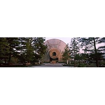 קריסטל גשר טרופי הקונסרבטוריון אוקלהומה סיטי אוקלהומה ארה ב פוסטר הדפסה