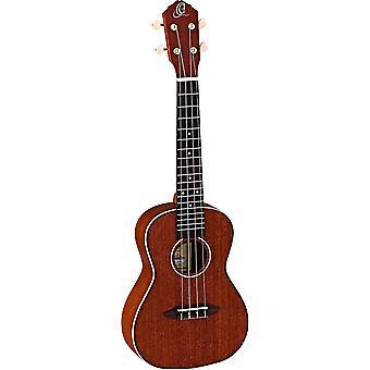 أورتيغا القيثارات سلسلة الأخشاب، 4 سلسلة ukulele، والحق (ru11)