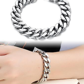 Titanium Steel Cuban Stainless Steel Male Bracelet