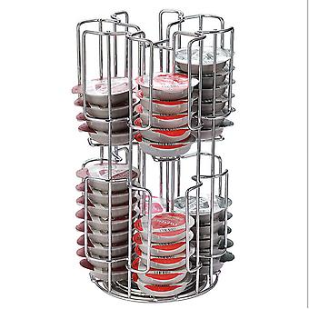 64 B. Capsule Storage Racks Can Rotate Tassimo Storage Racks