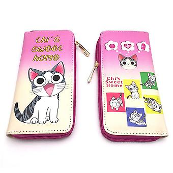 PU leather Coin Purse Cartoon anime wallet - Chat #335