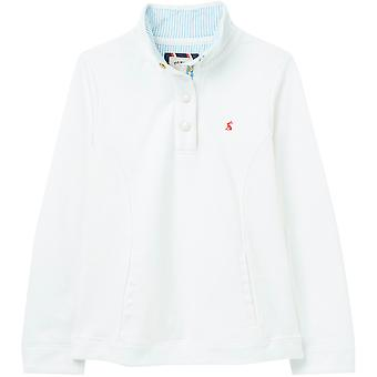 Joules Womens Beachy Button Up Funnel Neck Sweatshirt