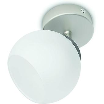 Philips myLiving Balla Single LED Eco Spot Light (1 x 4W) 230 V - Nickel A+ IP20