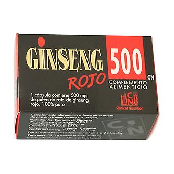 Red Ginseng 500 50 capsules of 500mg