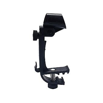 Professionnel Réglable Drum Microphone Mic Clip Clamp Mount Shockproof (SA13)