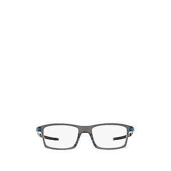 أوكلي OX8050 مصقول رمادي الدخان النظارات الطبية الذكور
