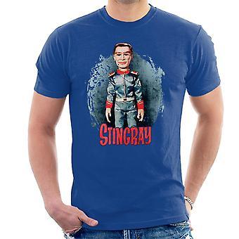 Stingray George Phones Sheridan Without Hat Men's T-Shirt