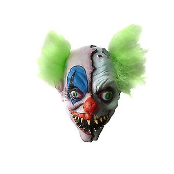 Head Mask Clown Split Unisex One Size