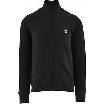 Paul Smith Black Regular Fit Zip Top