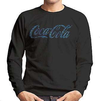 Coca Cola Hawaiian Logo Men's Sweatshirt