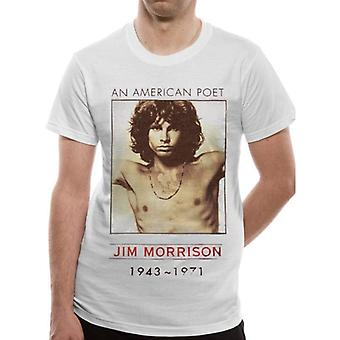 The Doors Unisex Adult American Poet T-Shirt
