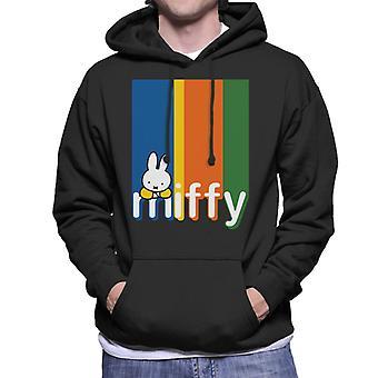 Nijntje Classic Block Colours Logo Heren Sweatshirt met Capuchon