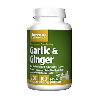 Garlic & Ginger 700 mg 100 capsules