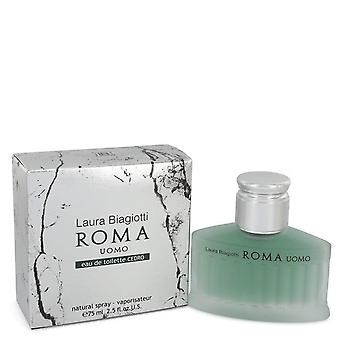 Roma Uomo Cedro Eau De Toilette Spray Laura Biagiotti 2.5 oz Eau De Toilette Spray