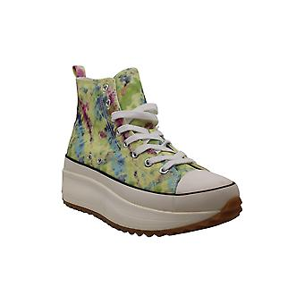 Madden chica mujeres'zapatos Winnona fabric hight top encaje up fashion sneakers