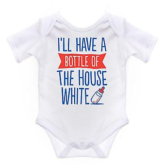 Nursery Time Baby Ill Have A Bottle Short Sleeve Bodysuit