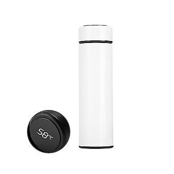 500Ml vacuum thermos led temperature display water bottle