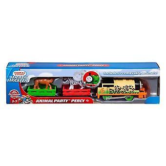 Thomas y sus amigos rastrean la percy fiesta animal