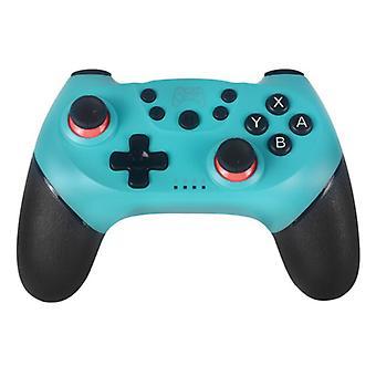 الاشياء المعتمدة ® تحكم الألعاب لنينتندو التبديل -- NS بلوتوث Gamepad مع الاهتزاز الأزرق