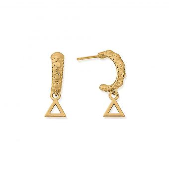 כלובו סטרלינג כסף זהב מצופה מיני חישוק עגילים GEH3141
