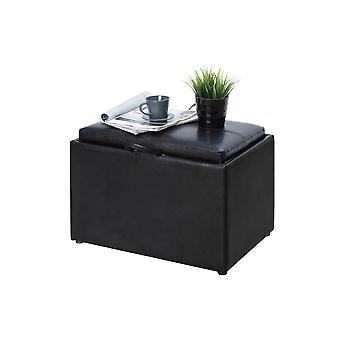 Designs4Comfort Accent Storage Ottoman - R8-163
