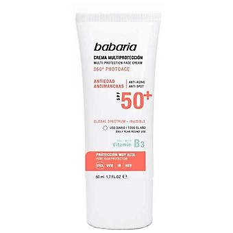 Babaria Crema Solar Spf 50 + Anti-Edad 50 ml