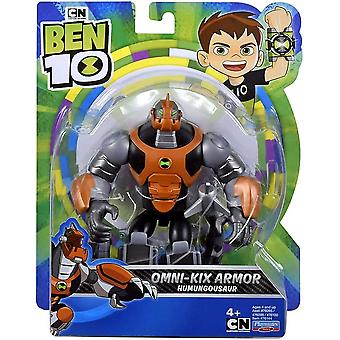 ben 10 action figure - humungosaur omni kix for ages 4+