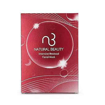 Natural Beauty Intensive Renewal Facial Mask 6x 20ml/0.67oz