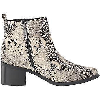 Blondo Women & s أحذية B5768 جلد مدبب أحذية أزياء الكاحل