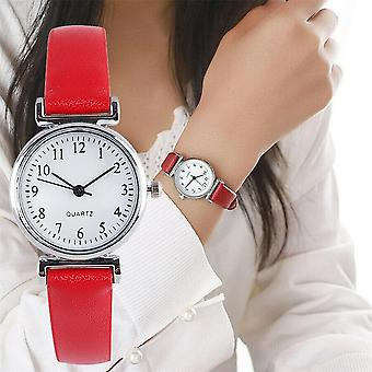 Classic Casual Quartz Leather Strap Analog Clock Wrist Watches