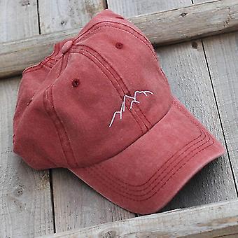 Mountain Peak Embroidery Caps / Hats