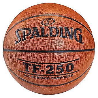 Spalding TF سلسلة TF500 مركب الجلد الحد الأقصى قبضة في / كرة السلة في الهواء الطلق