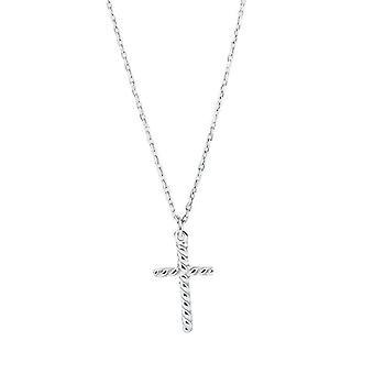 S925 zilveren ketting klassieke moeder dag cadeau voor vrouwen kruis