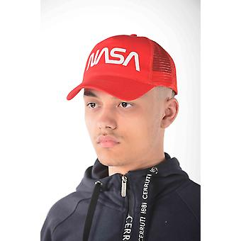 Casquette Rouge Nasa homme