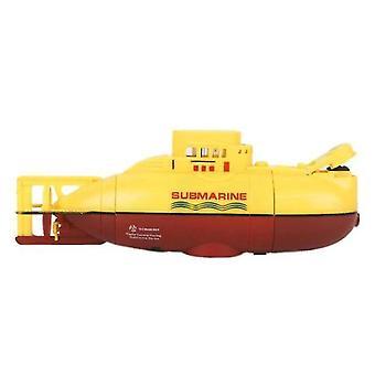 小型RC潜水艦用 3.7V 大型モデル RC潜水艦(イエロー) WS26292