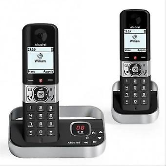 Téléphone sans fil Alcatel Versatis F890 DUO DECT Noir / Argent