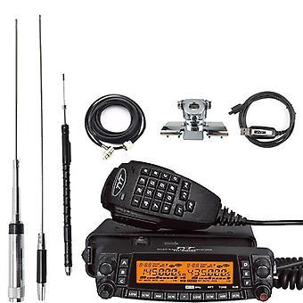 Mobile Radio Station Transceiver Vehicle Radio Quad Band 430mhz Cross-band