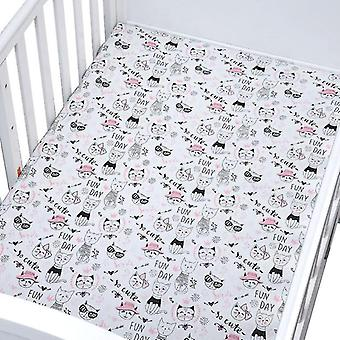 new e bed fitted sheet crib triangle design bedding protector sm17937