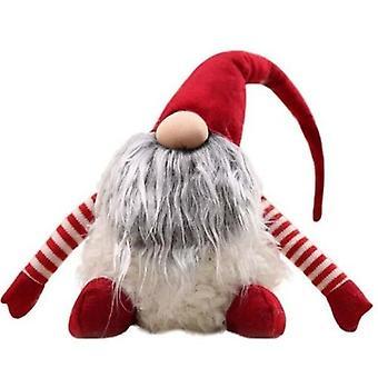 Käsintehty ruotsalainen joulukoriste Santa Gnome Pehmo-joulu