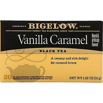 Bigelow Tea Vanilla Caramel 20Bg, Case of 6 X 1.82 Oz