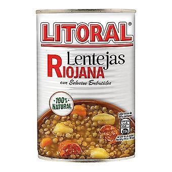 Linsen Rioja Style Litoral (430 g)