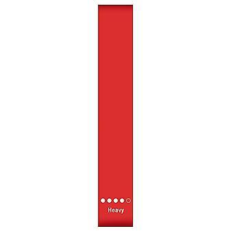 Elastiskt träningsband (rött)