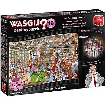 Wasgij Destiny 19 The Puzzlers Arm 1000 Piece Puzzle