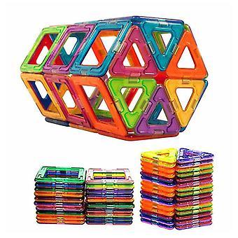 كتل البناء المغناطيسية الحجم الكبير مجموعة البناء مصمم المغناطيسي