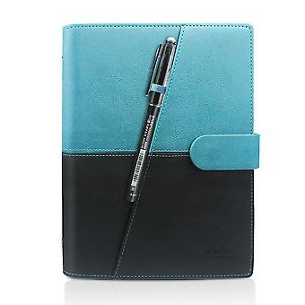 Newyes smart reusable erasable notebook microwave wave cloud erase notepad note pad lined with pen